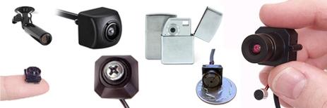 Microcamere occultate in oggetti